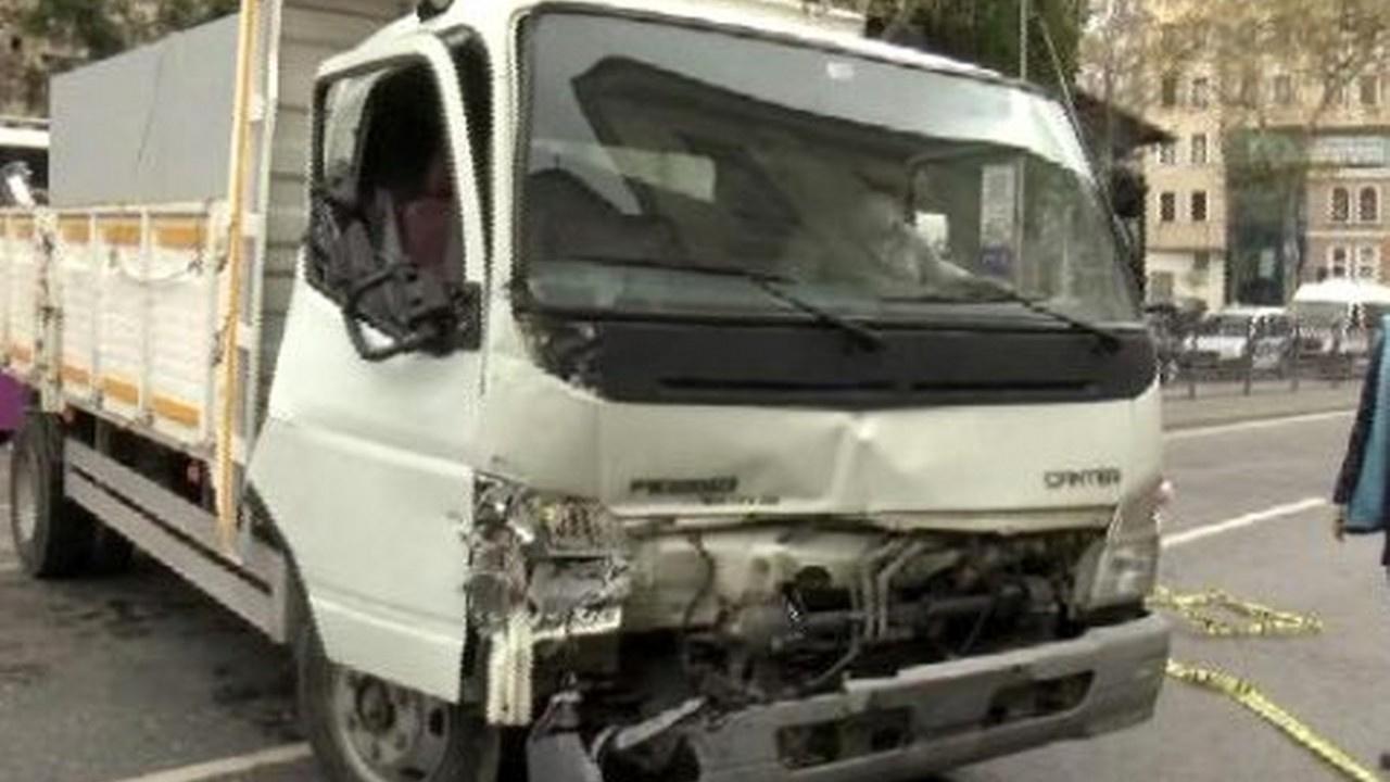 Beşiktaş'ta feci kaza, yaralılar var