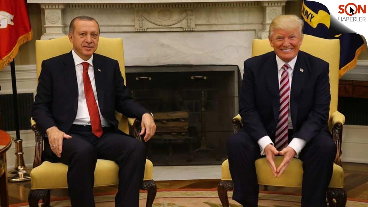 Cumhurbaşkanı Erdoğan'dan Trump'a anlamlı mektup