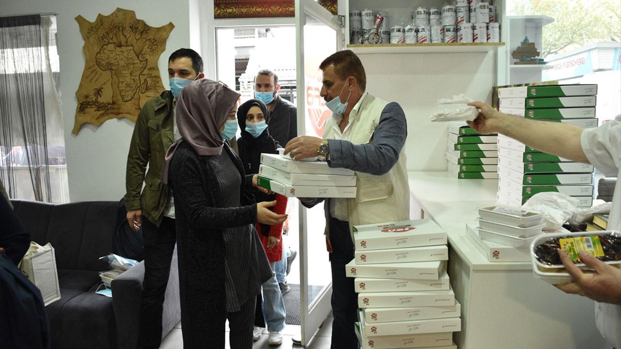 Avusturya Türk STK WEFA'dan Ramazan yardımı