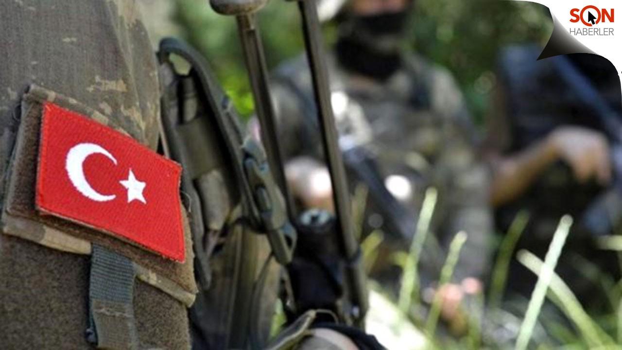 Haftanin'de saldırı, 1 askerimiz şehit düştü