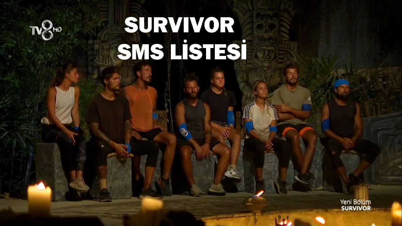 Survivor SMS ücreti ne kadar 2020