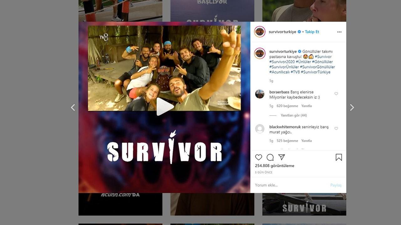 Survivor yarışmacıları instagram hesapları 2020