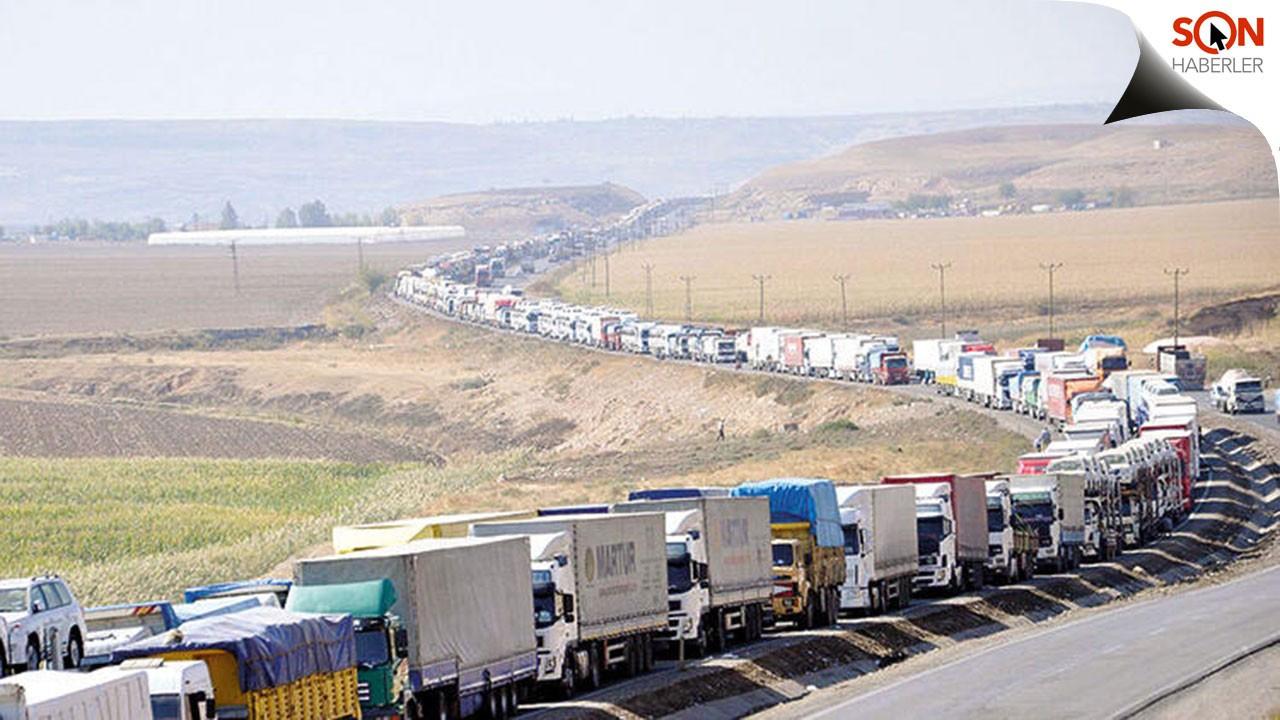 Türk şoförler için karantina şartı hafifletildi