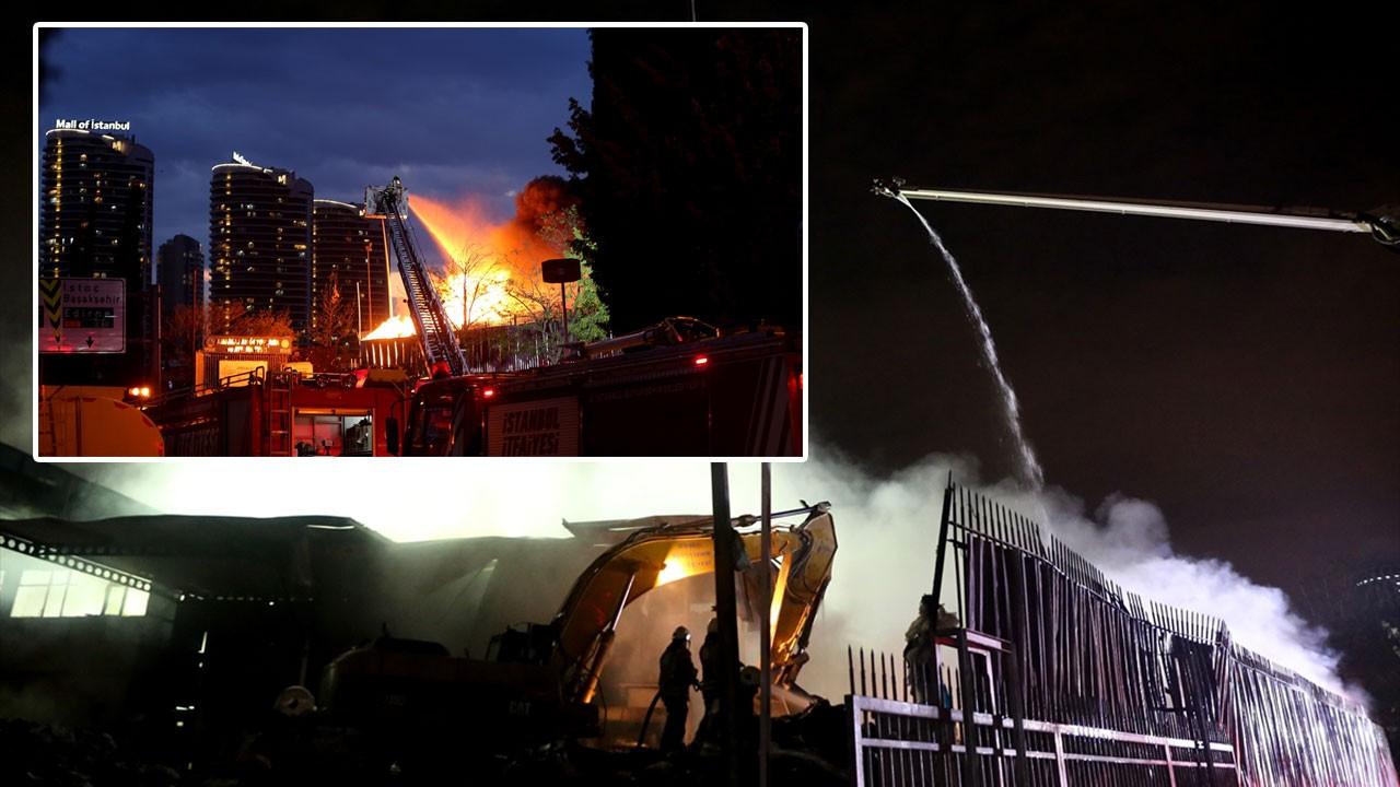 İstanbul Bağcılar'da korkutan yangın