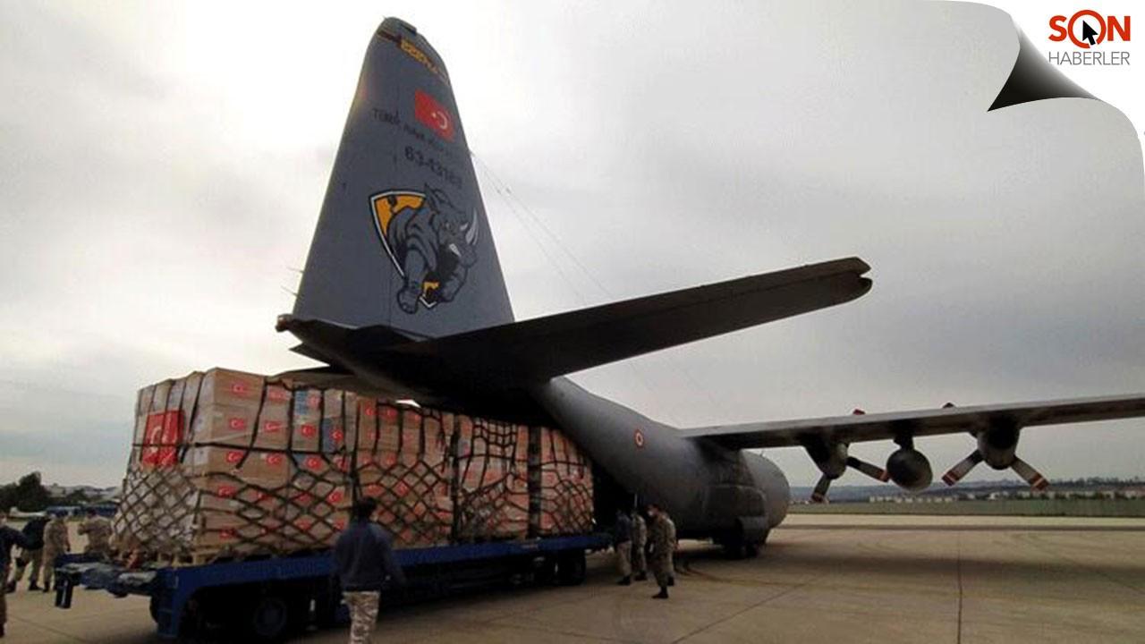 Türkiye'den ABD'ye ikinci yardım uçağı
