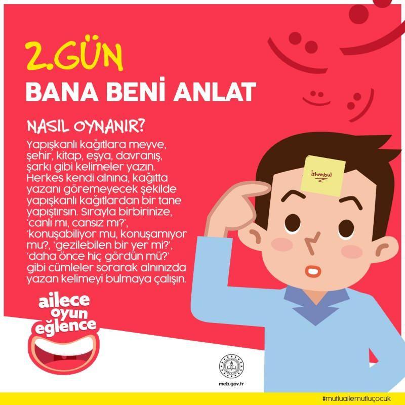 Milli Eğitim Bakanı'ndan ailelere oyun önerileri - Sayfa 2