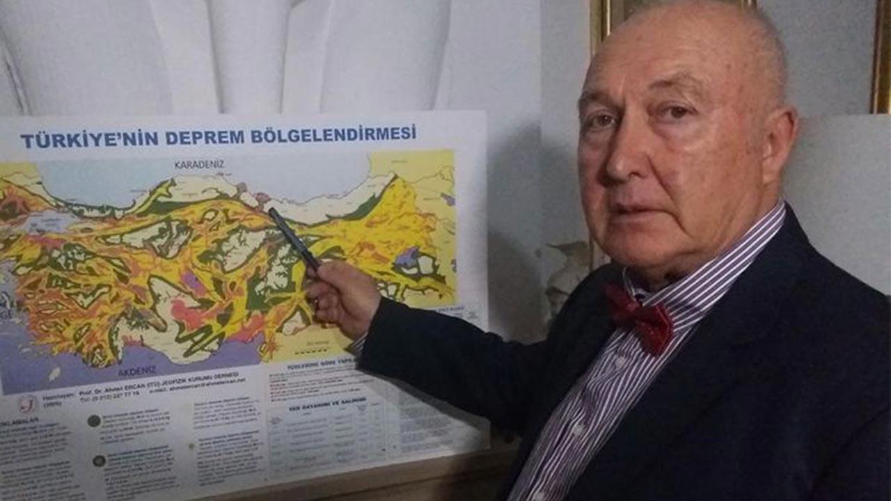 Türkiye'de 5 ile deprem uyarısı geldi