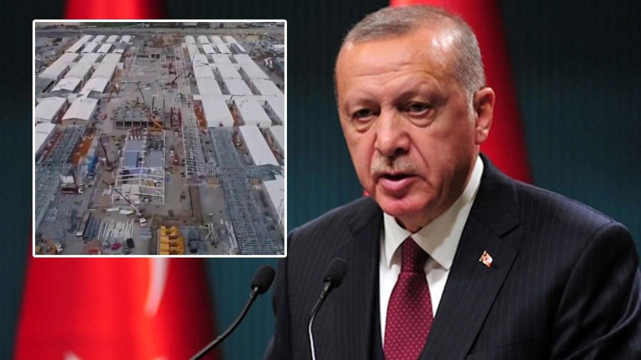 Erdoğan paylaştı: İki önemli hastane yükseliyor