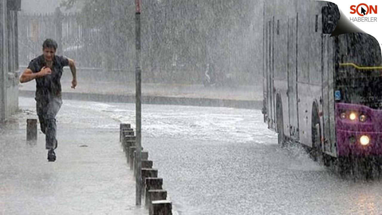 Meteorolojiden 5 ile yağış uyarısı