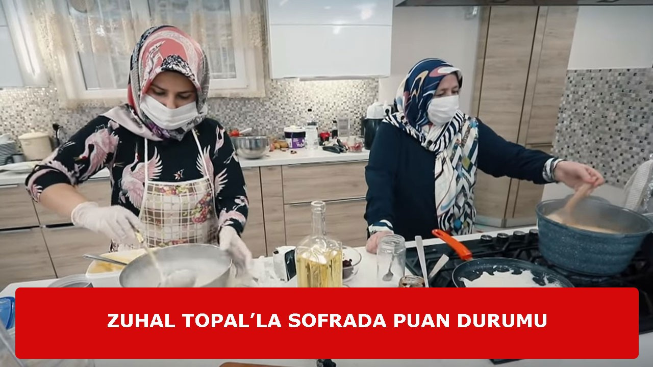 4 Mayıs Pazartesi Zuhal Topal'la Sofrada Puanları