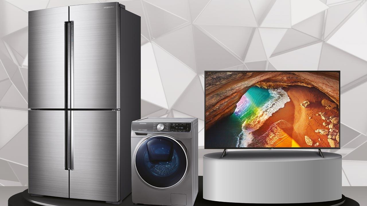 Samsung buzdolabı ve çamaşır makinesi indirimde