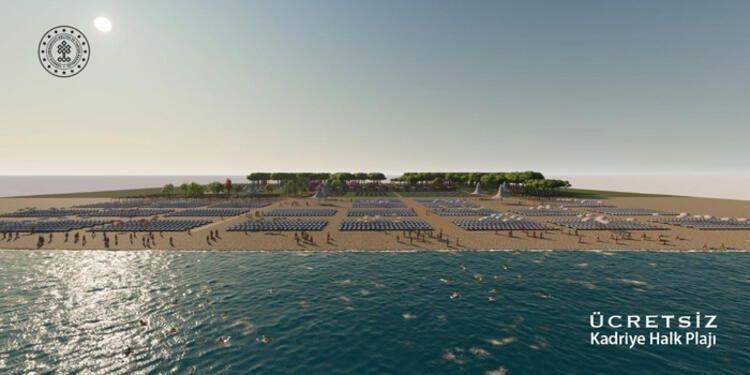 Belek ve Kadiriye halk plajları sezona hazır - Sayfa 2