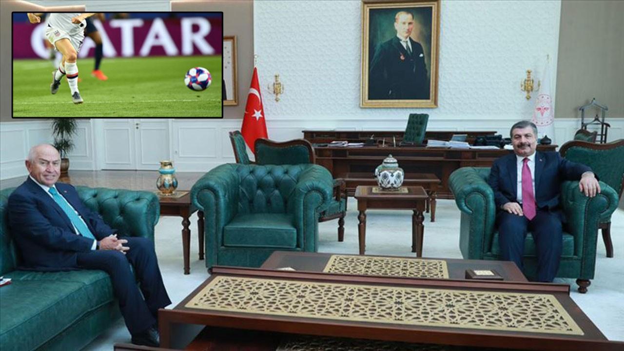 Sağlık Bakanı Koca'dan futbol açıklaması