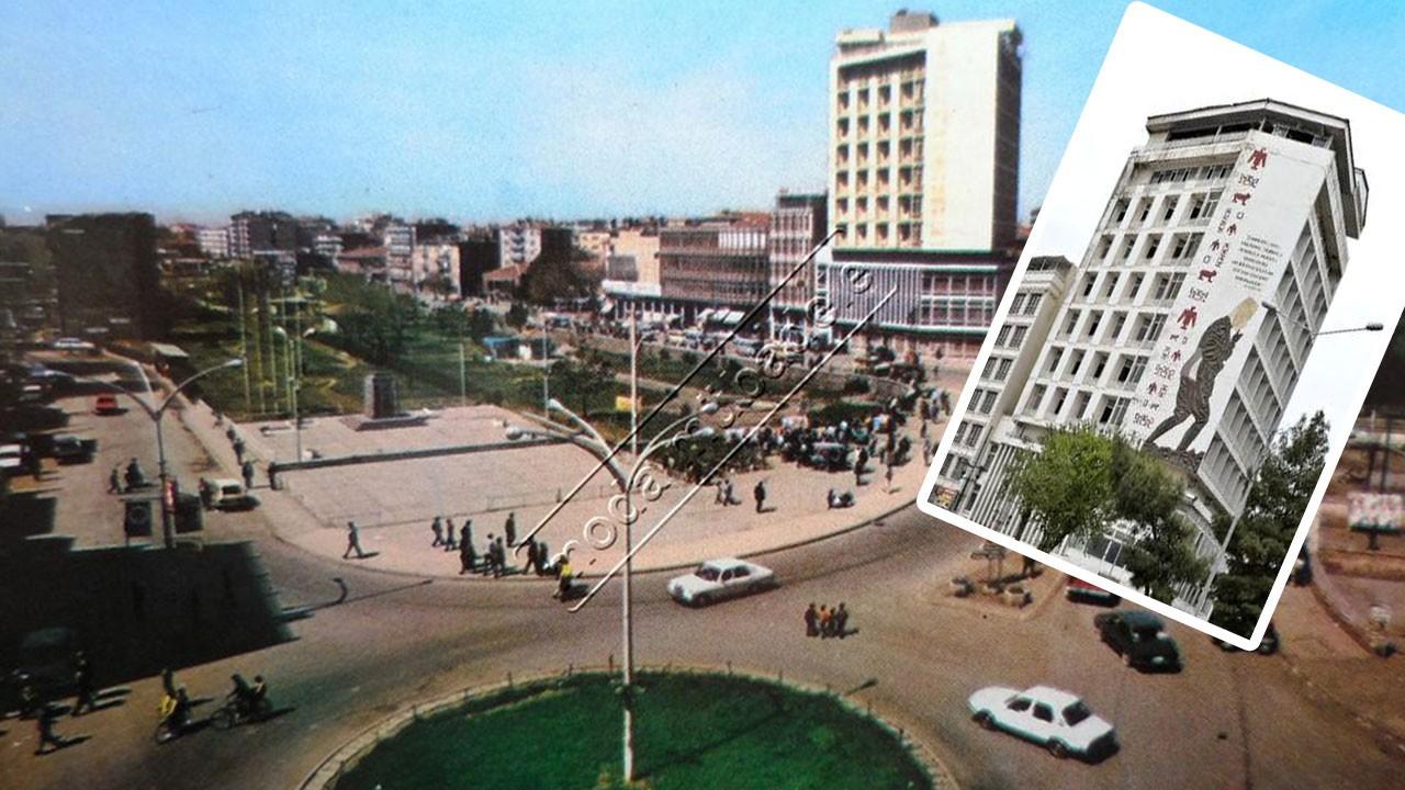 Dağkapı Meydanı'ndaki bina yıkılıyor