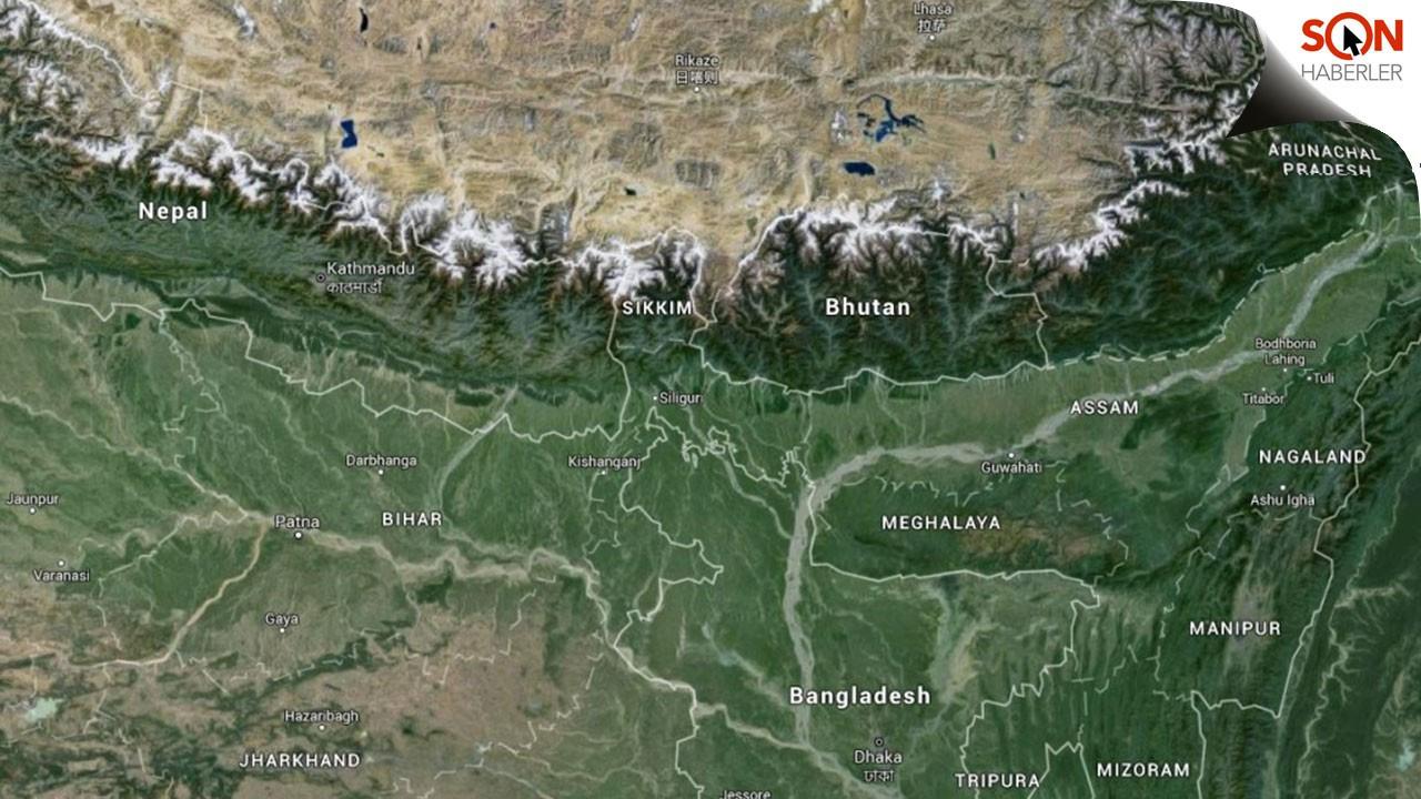 Hindistan - Çin sınırında arbede
