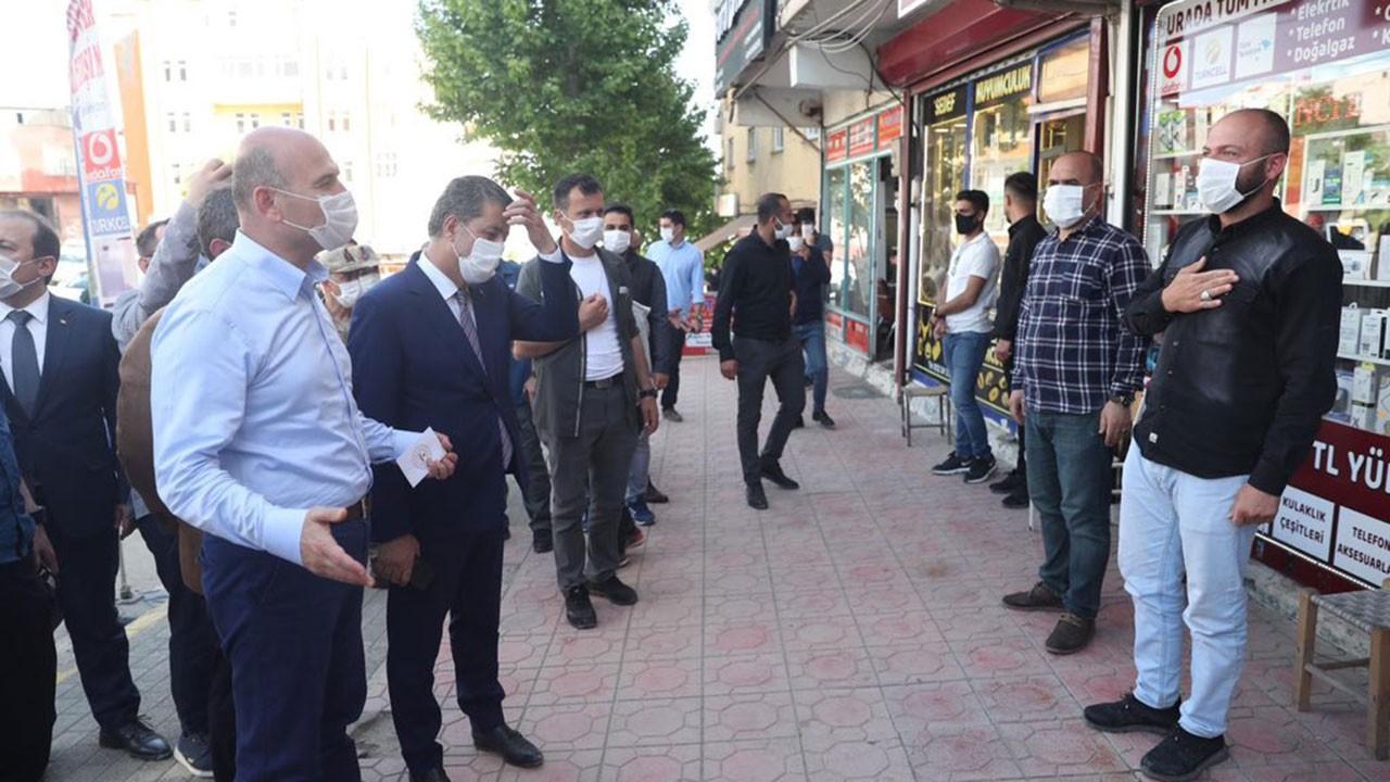 İçişleri Bakanı Soylu Şırnak esnaf ziyaretinde