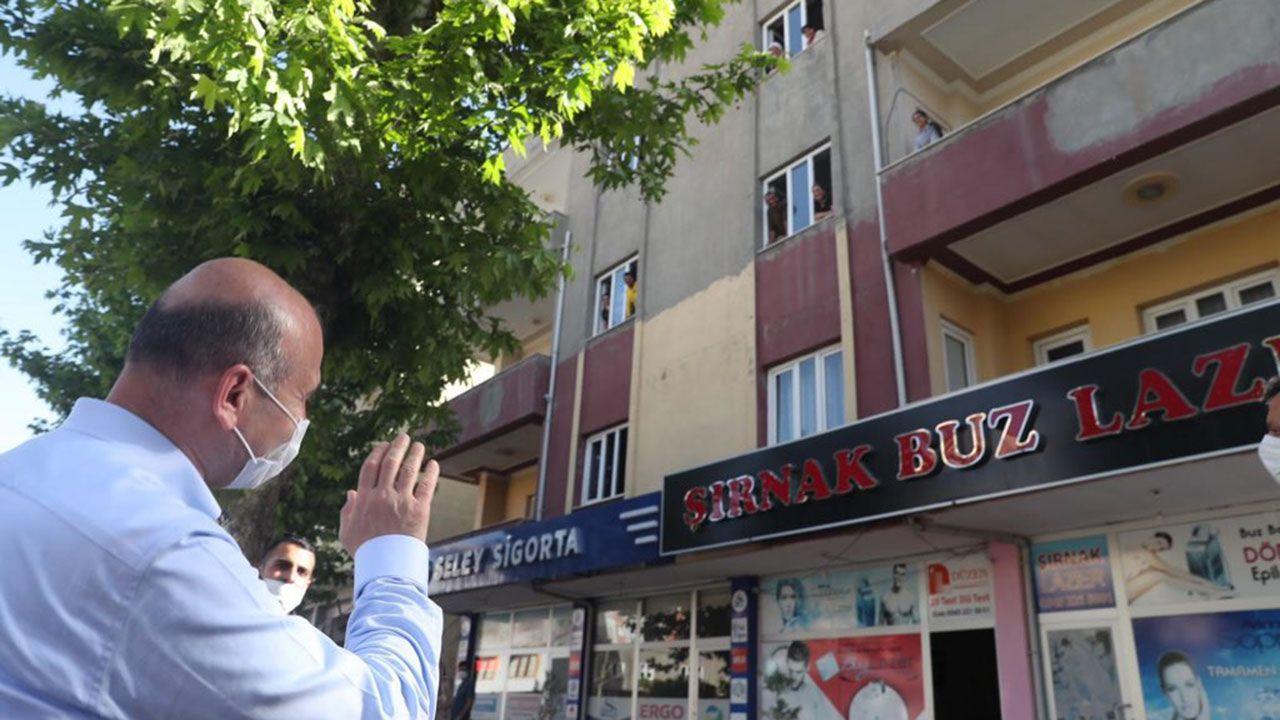 İçişleri Bakanı Soylu Şırnak esnaf ziyaretinde - Sayfa 2