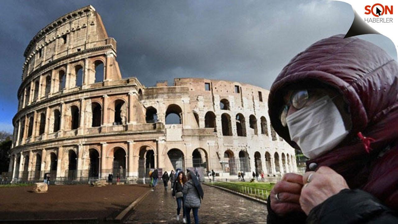 İtalya'da koronadan ölümler 34 bin 738'e yükseldi