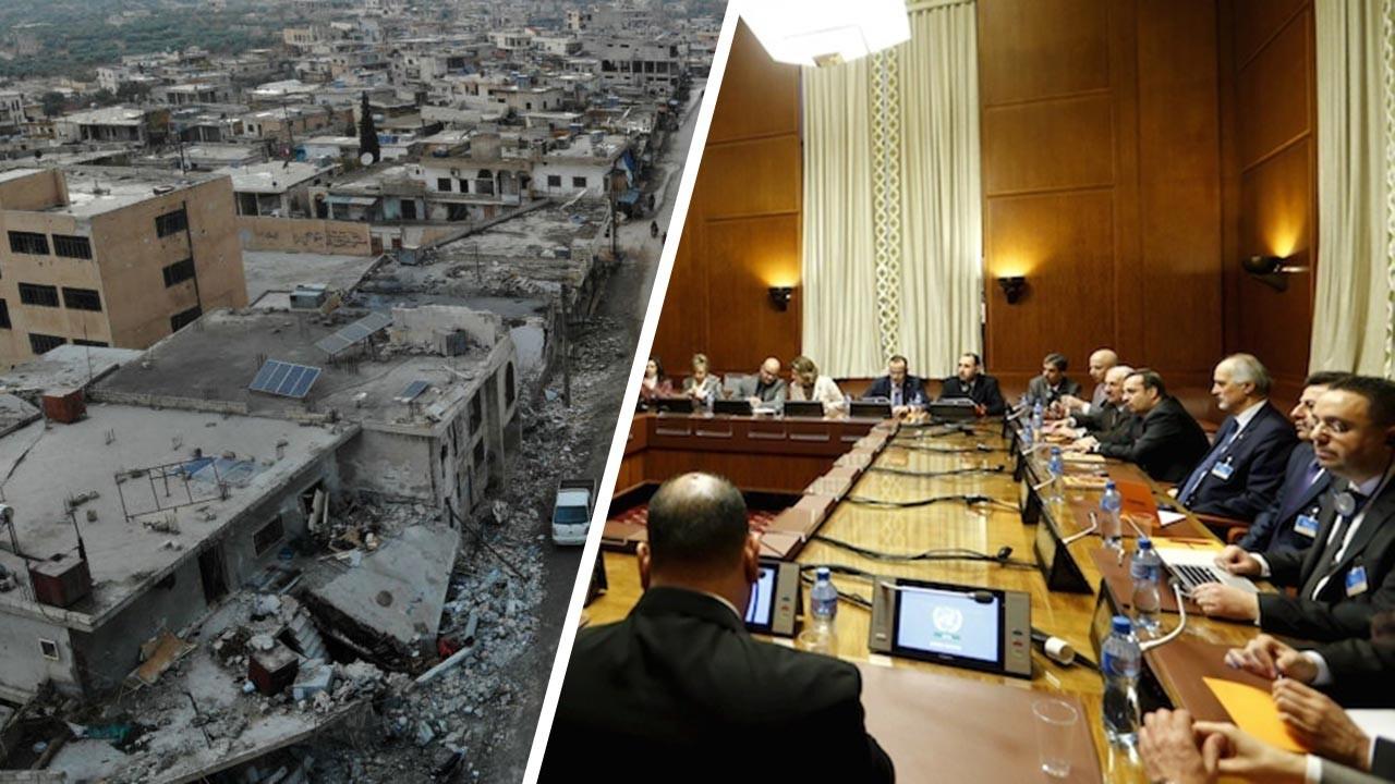Suriyeli taraflar yeni anayasa için aynı masada