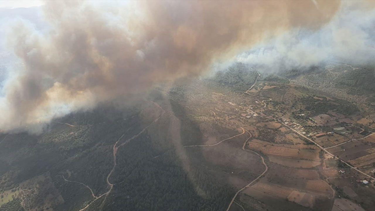 Milas'ta orman yangını, müdahale sürüyor - Sayfa 2