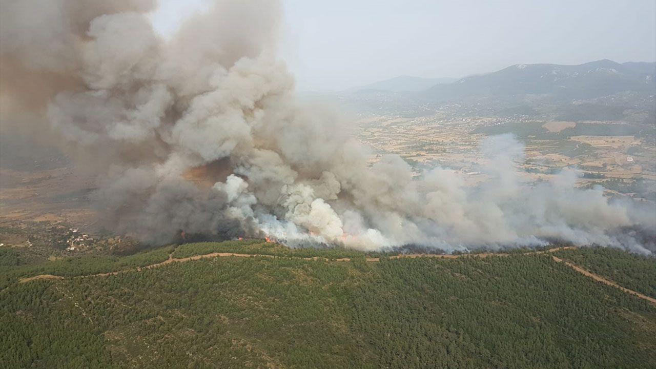 Milas'ta orman yangını, müdahale sürüyor - Sayfa 3