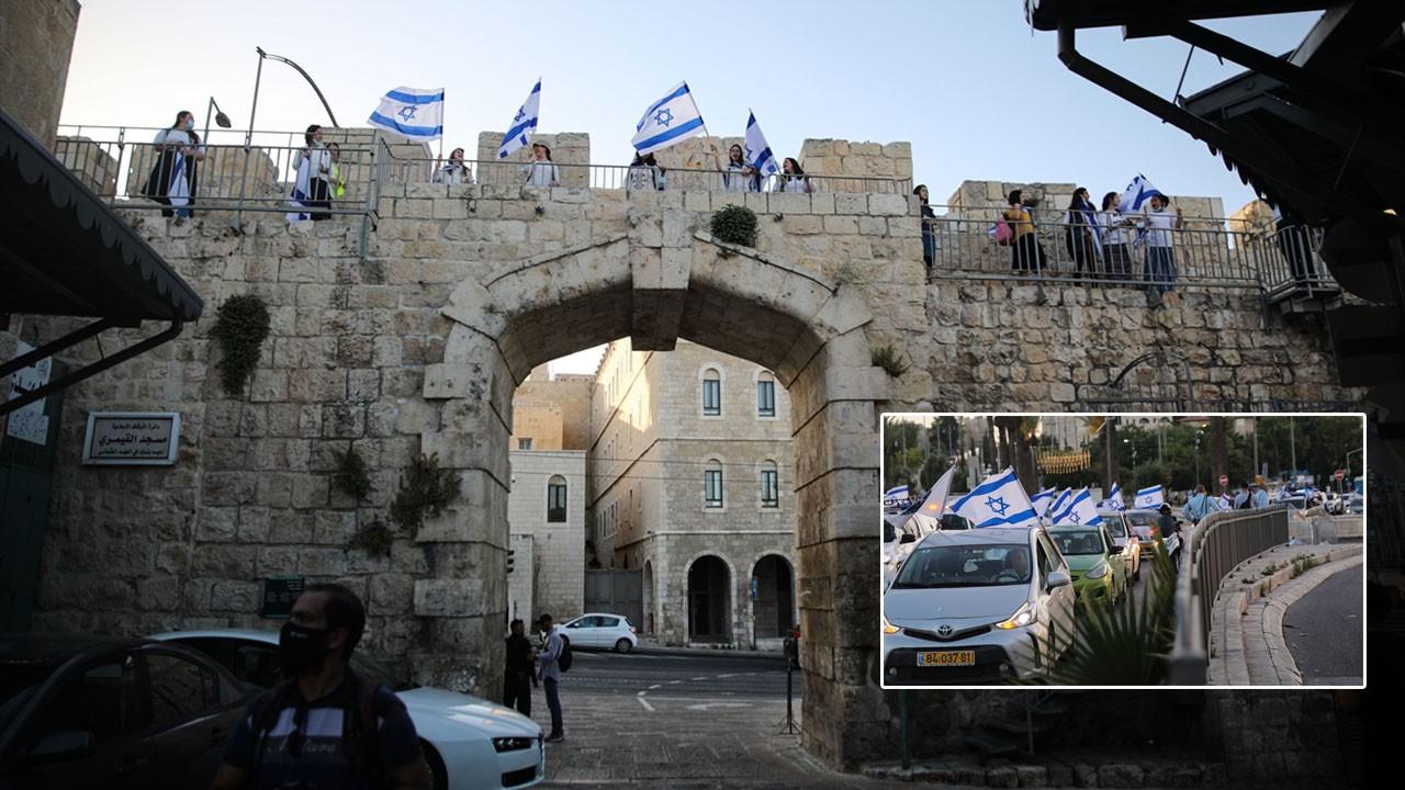 Yahudiler Kudüs'te 'işgal'i kutladı