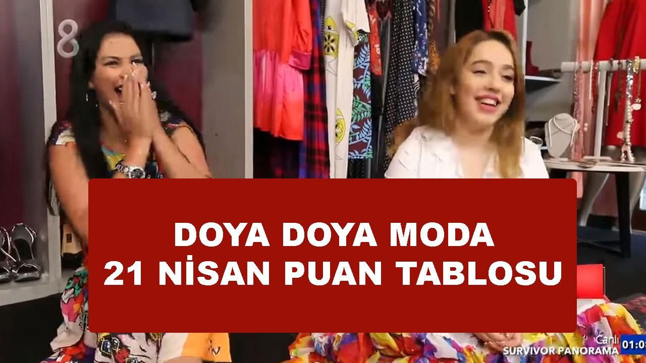 Doya Doya Moda 21 Mayıs puan durumu nasıl oldu?