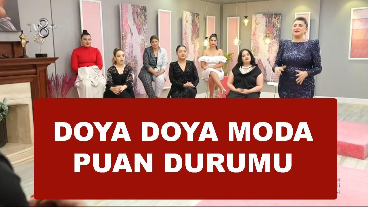 Doya Doya Moda 22 Mayıs puan durumu