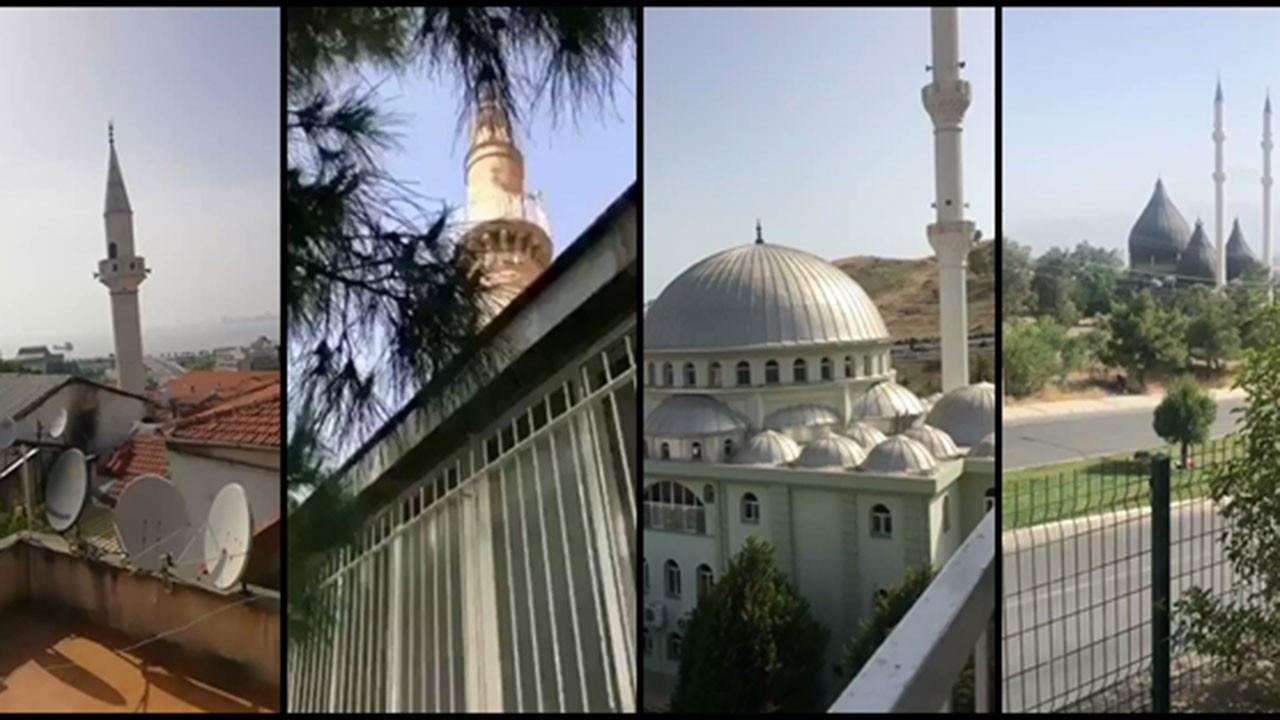 İzmir'deki camilere bugün de saldırı düzenlendi