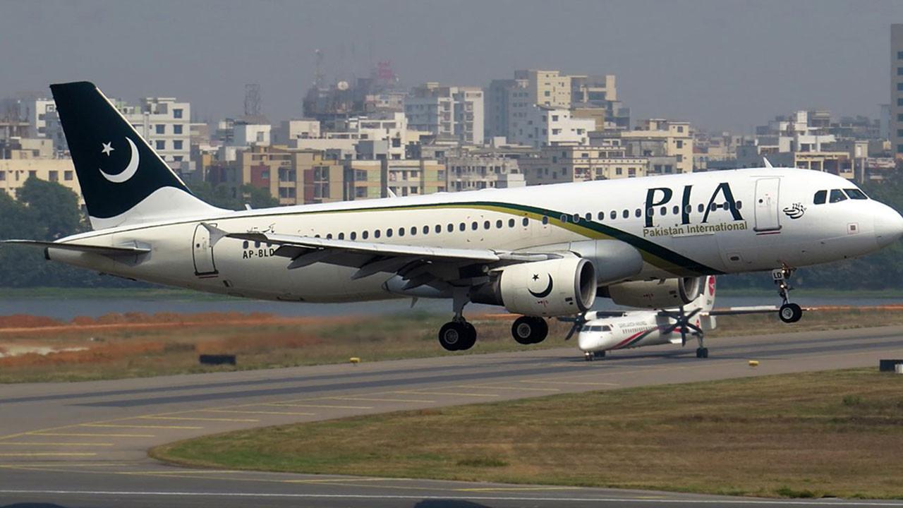 Pakistan düşen uçak