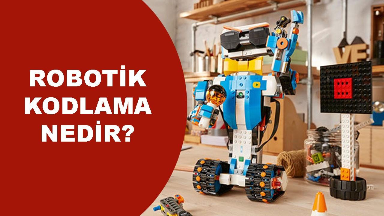 Robotik kodlama ile neler yapılabilir?