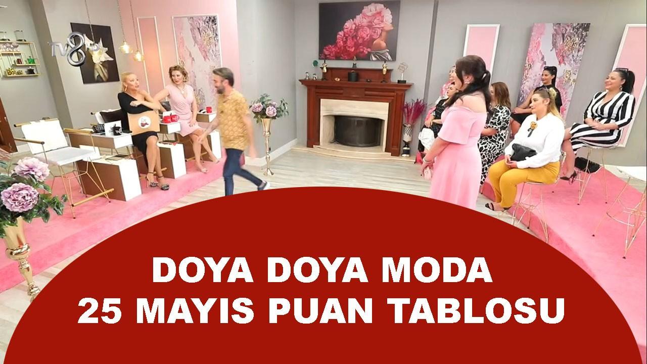 Doya Doya Moda 27 Mayıs Puan Durumu Tablosu