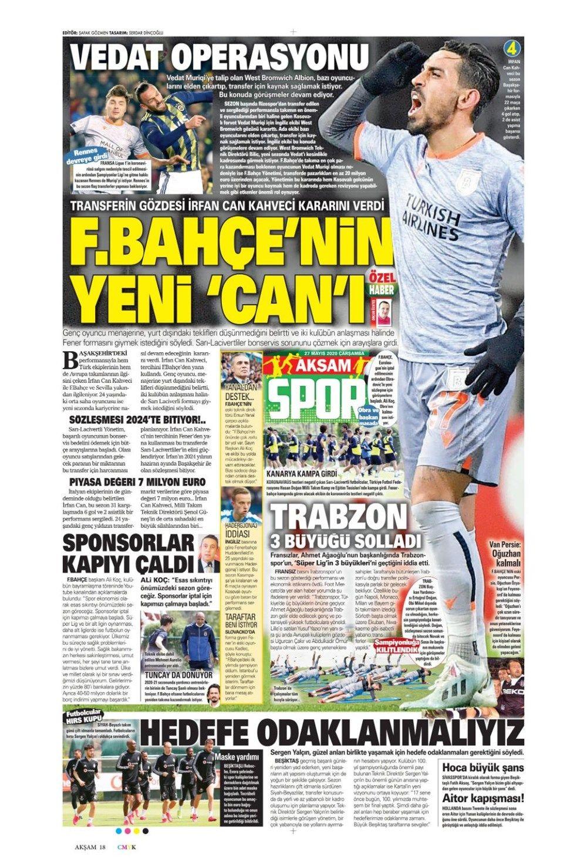 Spor gazetelerinin 27 Mayıs manşetleri - Sayfa 2