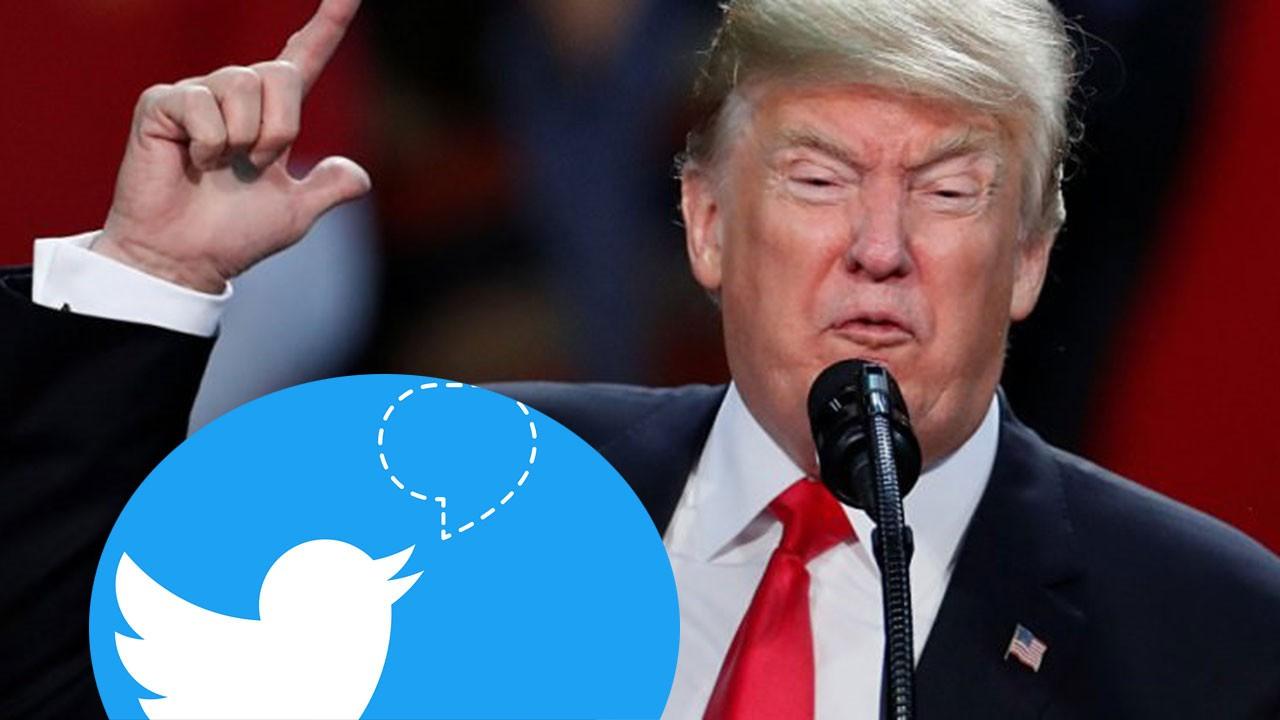 Trump'dan dünyayı şoke eden Twitter tehdidi
