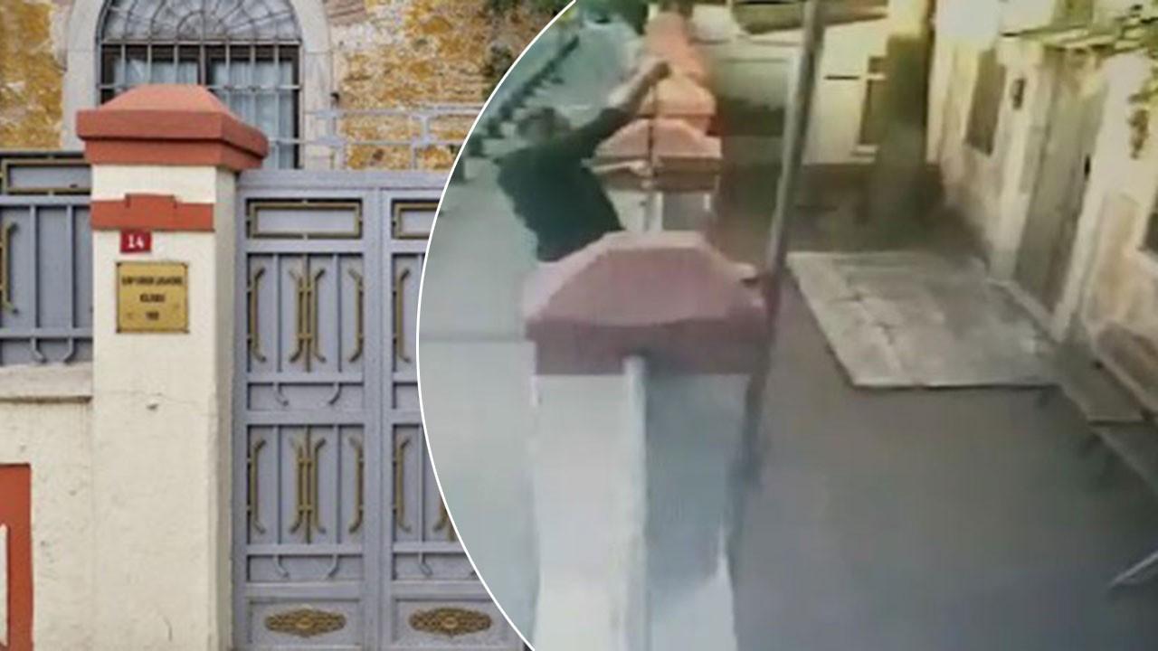 Kiliseye saldıran kişi yakalandı