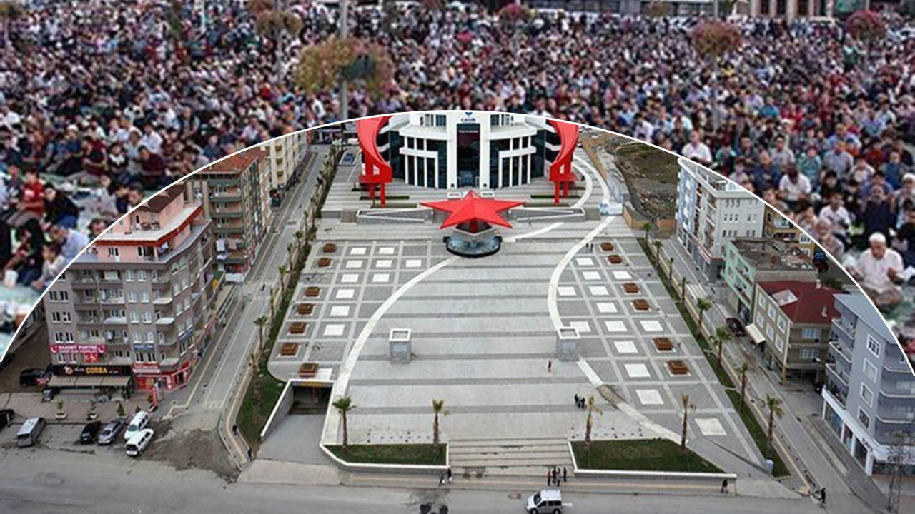 Samsun'da Cuma namazı meydanda kılınacak