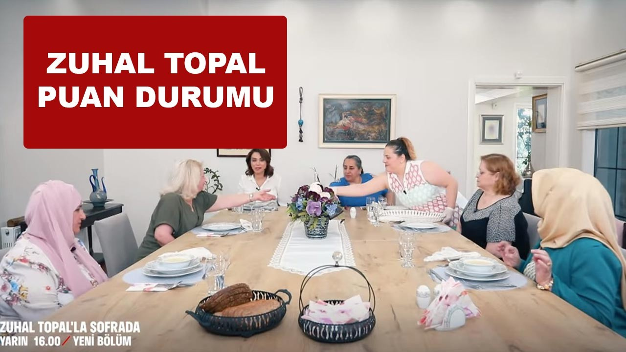 Zuhal Topal'la Sofrada 1 Haziran puan durumu