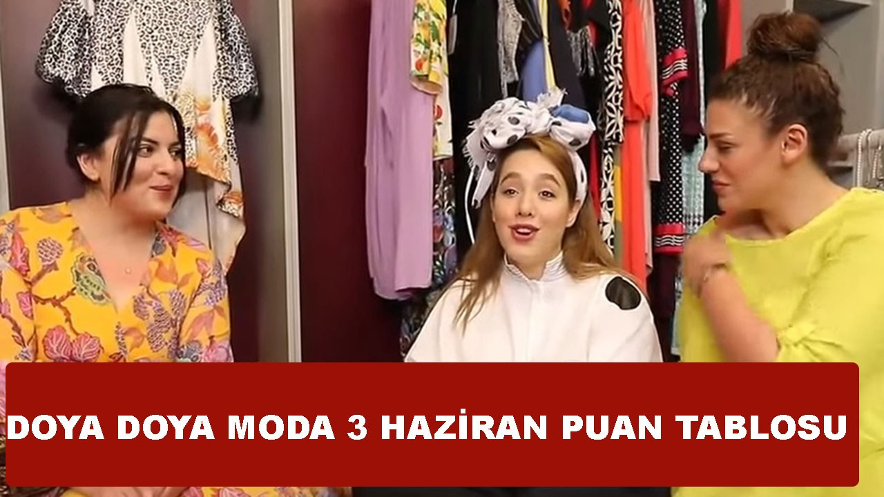 Doya Doya Moda 4 Haziran Puan Tablosu