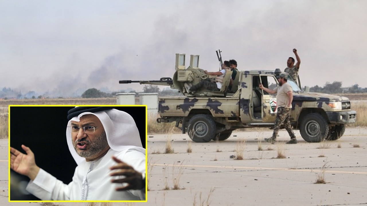 BAE, Libya'da 'siyasi çözüm' çağrısı yaptı