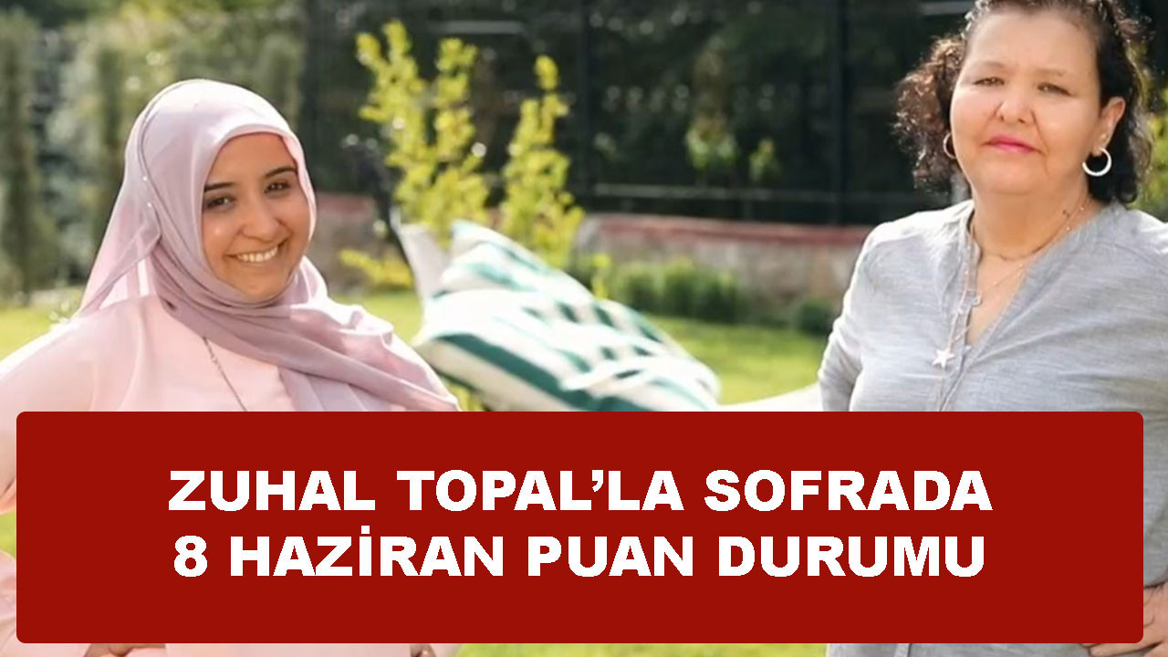 Zuhal Topal Vahide'ye kaç puan verdi.