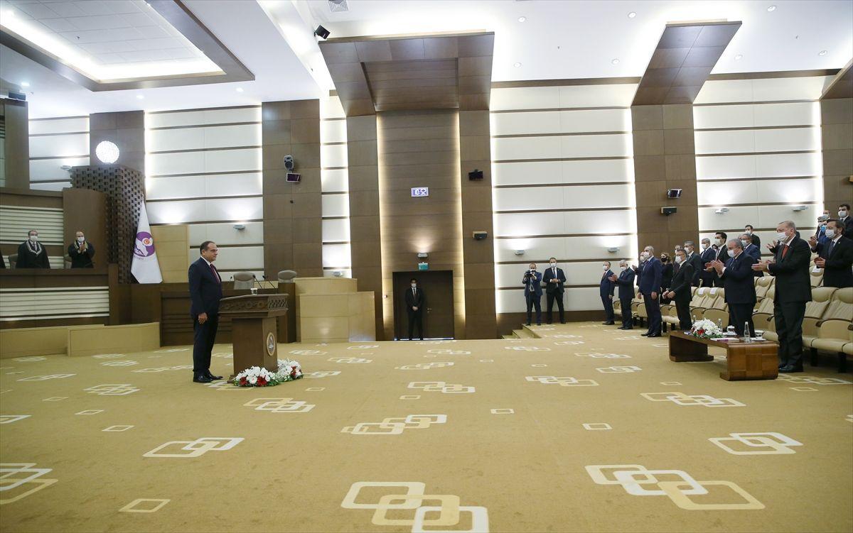 Erdoğan, yeni AYM üyesi Bağcı'nın yemin törenine katıldı - Sayfa 4