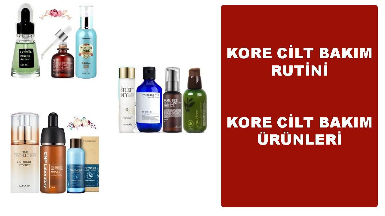 Kore cilt bakımı nasıl yapılır, ürünleri nelerdir?