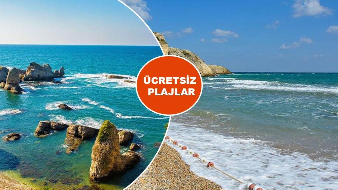 İstanbul'da denize girilebilecek ücretsiz plajlar