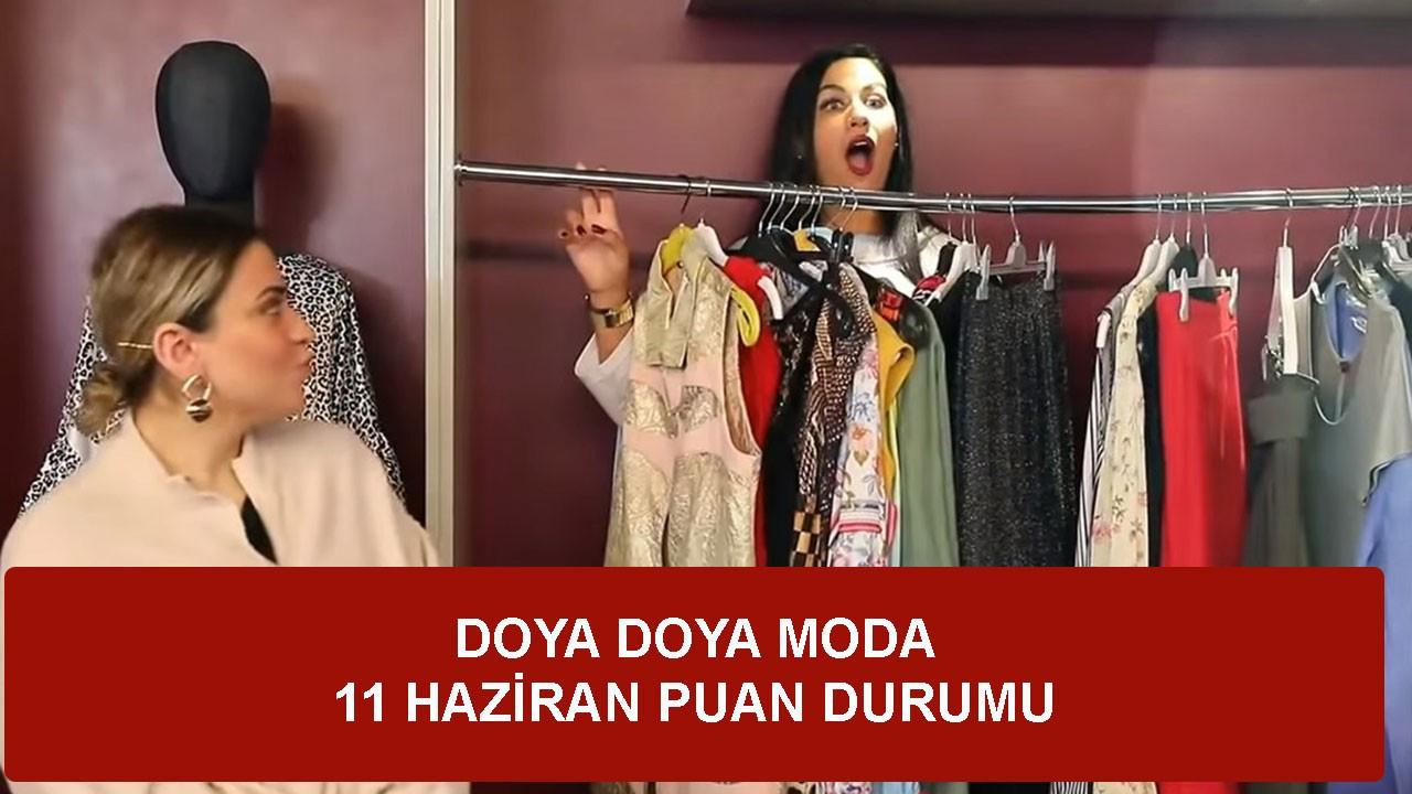 Doya Doya Moda 11 Haziran Perşembe Puan Durumu