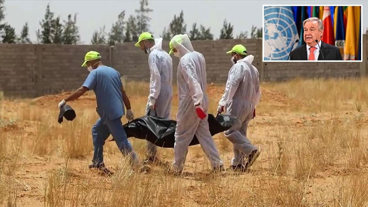 Libya'daki toplu mezarlar için soruşturma çağrısı