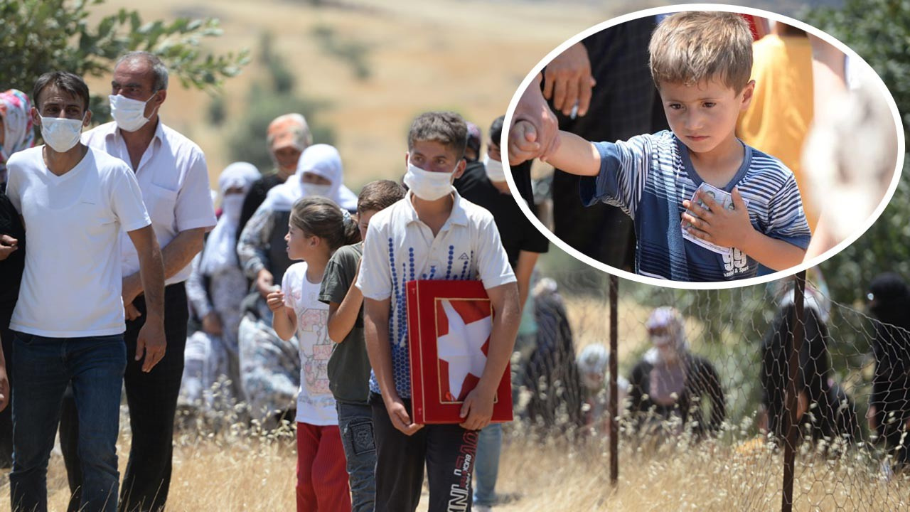 Terör saldırısından geriye 9 çocuk yetim kaldı