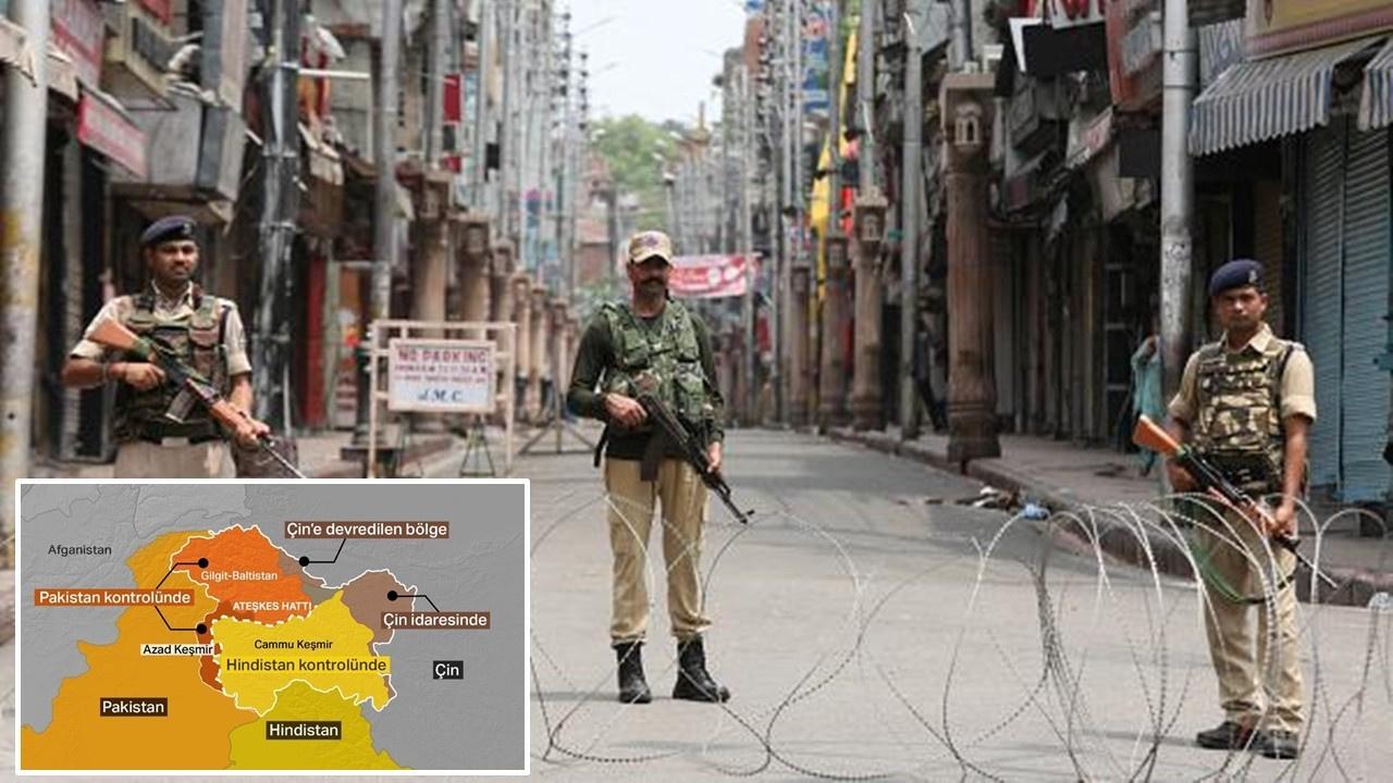 Hindistan'dan saldırı, bir Pakistan askeri şehit