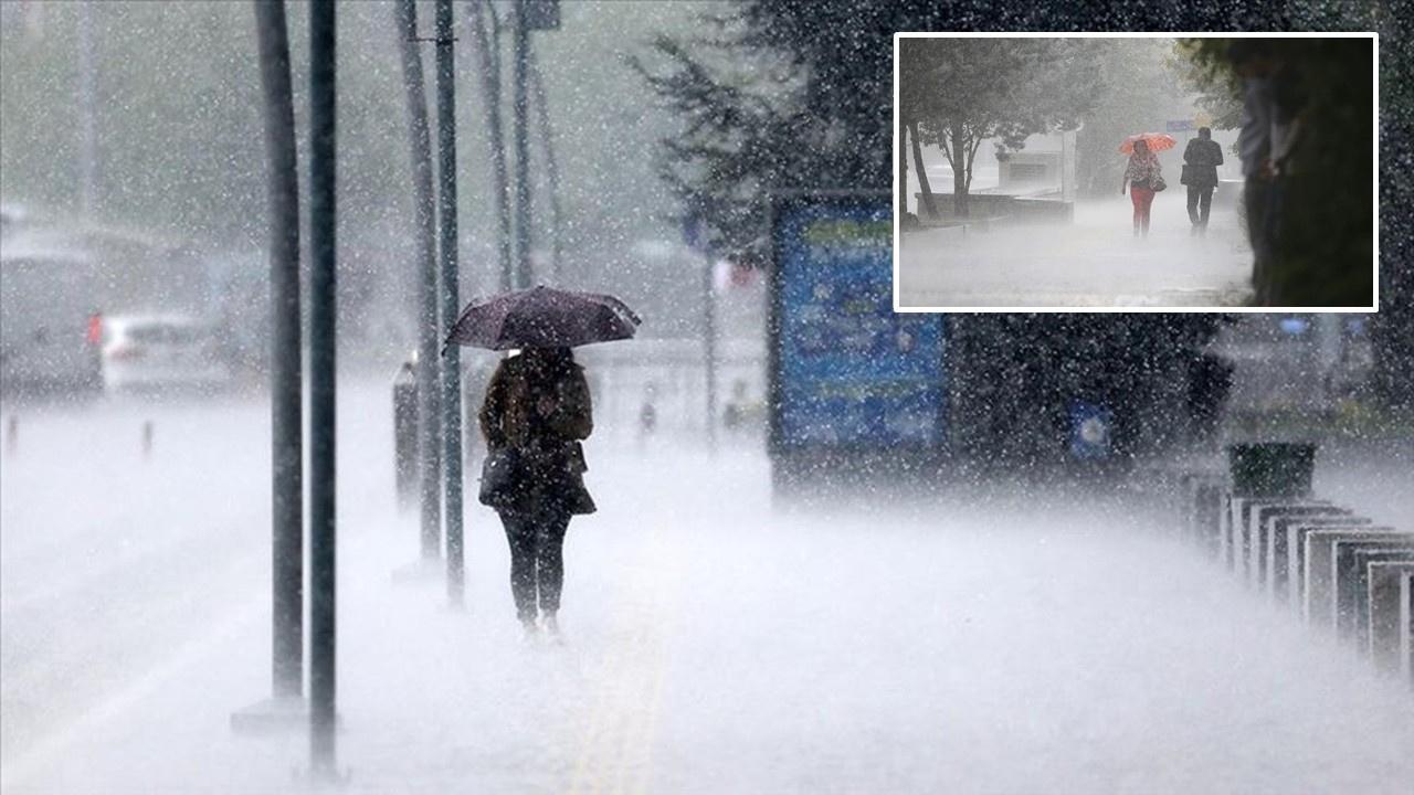 İstanbul'da fırtına, sağanak ve dolu