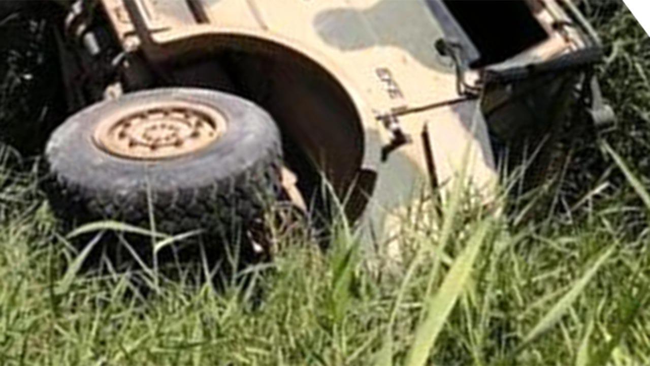 Gaziantep'te askeri araç devrildi, yaralılar var