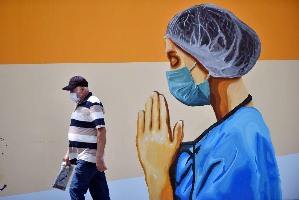 Sağlık çalışanlarını grafiti yansıttı - Sayfa 4
